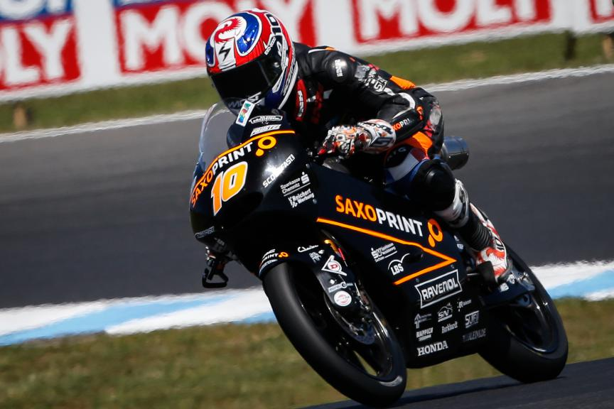 Alexis Masbou, Saxoprint RTG, Australian GP Race
