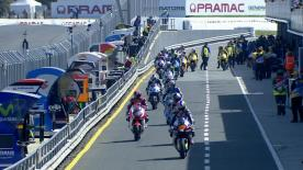 The full Warm Up session for the Moto2™ World Championship at the Australian GP.