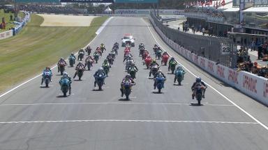 #Australian GP: Gara classe Moto3™