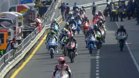 The full Warm Up session for the Moto3™ World Championship at the Australian GP.