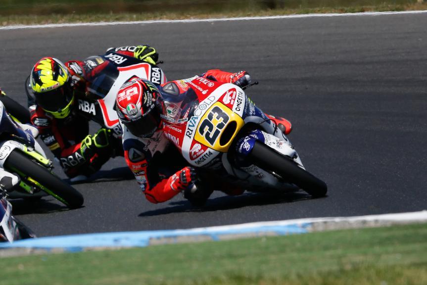 Niccolò Antonelli, Ongetta-rivacold, Australian GP Race