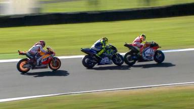 Iannone's sensational double overtake!