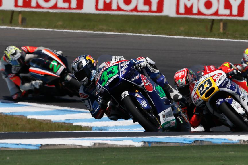 Enea Bastianini, Gresini Racing Team Moto3, Australian GP Race