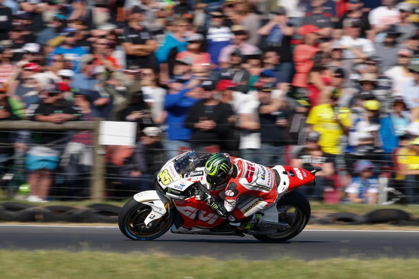 Cal Crutchlow, LCR Honda, Australian GP Race
