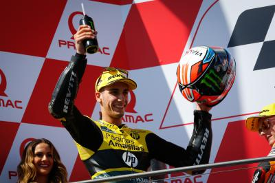 "Rins: ""I was a little bit nervous"""