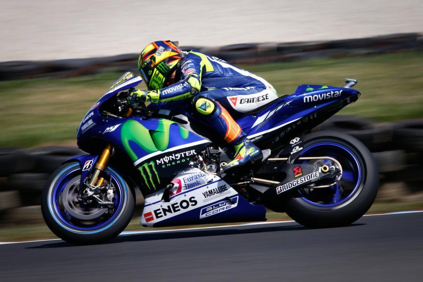 Valentino Rossi, Movistar Yamaha MotoGP, Australian GP Race