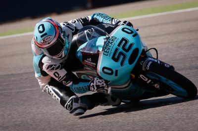 Kent sets the pace in Moto3™ Warm Up