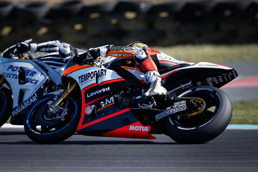 Loris Baz, Forward Racing, Australian GP Race