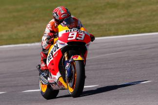 Marquez leads the way in Warm Up