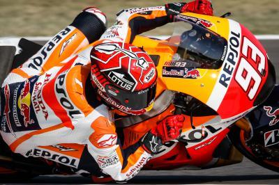Victoria de Márquez en el Gran Premio Pramac de Australia