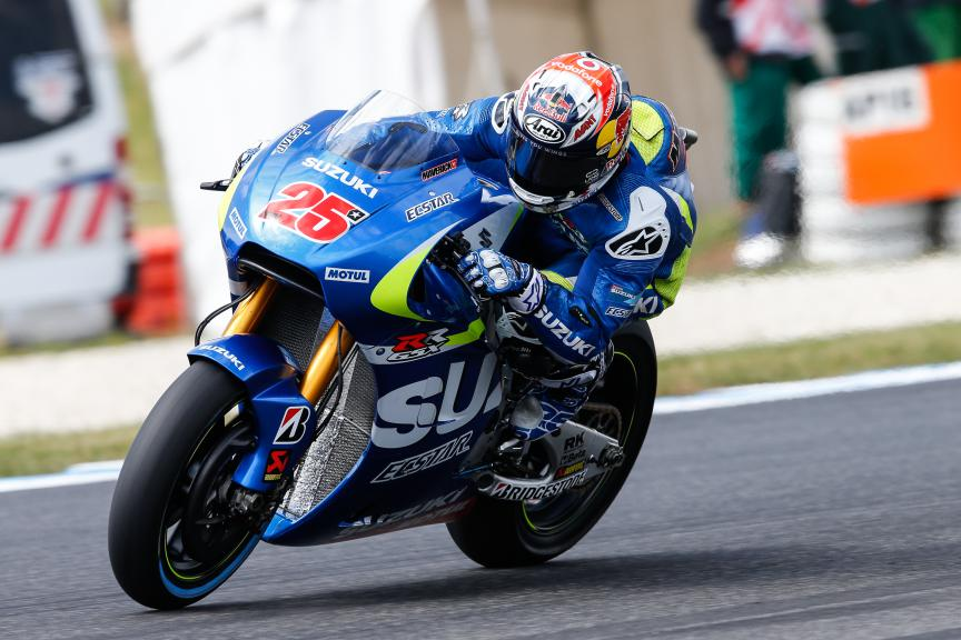 Maverick Viñales, Team Ecstar Suzuki, Australian GP Race