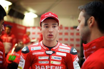 Juanfran Guevara, con el RBA Racing en 2016