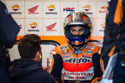 "Pedrosa: ""I could not accelerate hard"""