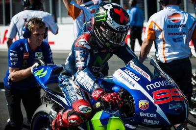 Jorge Lorenzo levels with Mick Doohan