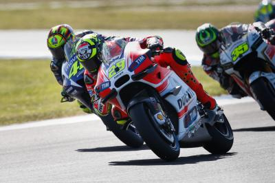 "Iannone: ""Interesting to see how much we have improved"""