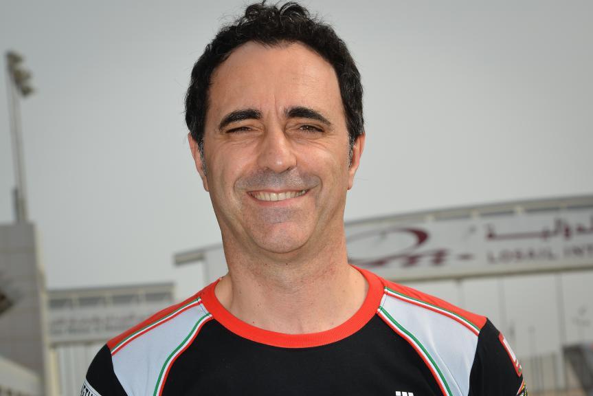 Aprilia Racing Manager Romano Albesiano