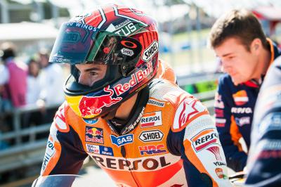 "Marquez: ""Hoping to continue this good run for Honda"""