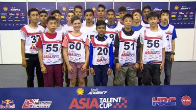 2016 Shell Advance Asia Talent Cup: Selection process