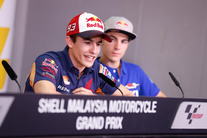 Sepang International Circuit Malaysia Press Conference