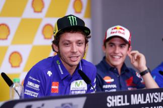"Rossi: ""Marquez would prefer Lorenzo to win"""
