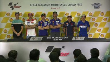 Press conference kicks off #MalaysianGP
