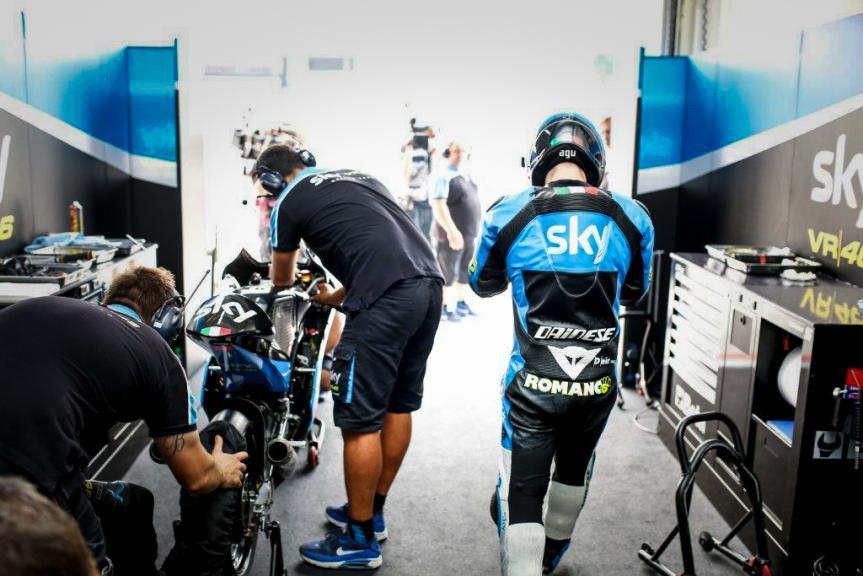 Romano Fenati, SKY Racing Team VR46, Malaysian GP FP2