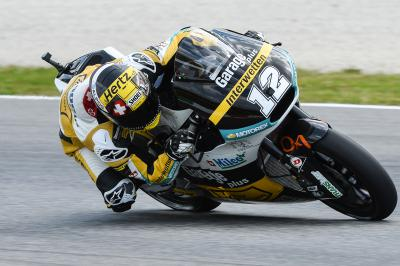 Luthi ends Friday quickest in Moto2™