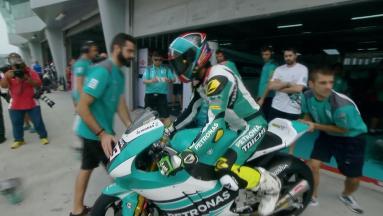 #MalaysianGP: FP1 classe Moto2™