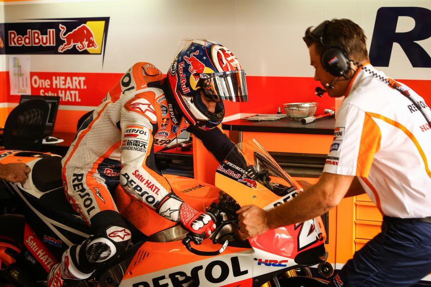 Dani Pedrosa, Repsol Honda Team, Malaysian GP FP2