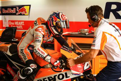 "Pedrosa: ""Today we had the first practice sessions"""