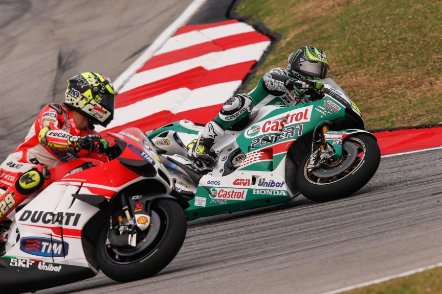 Cal Crutchlow, LCR Honda, Malaysian GP FP2