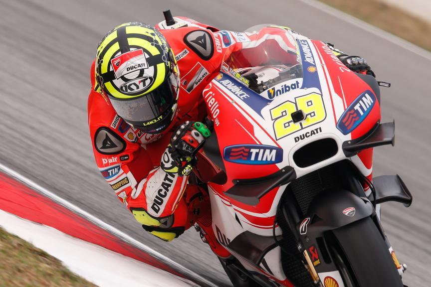Andrea Iannone, Ducati Team, Malaysian GP FP2