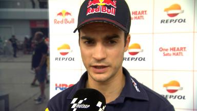 Pedrosa: 'The track is going to improve'