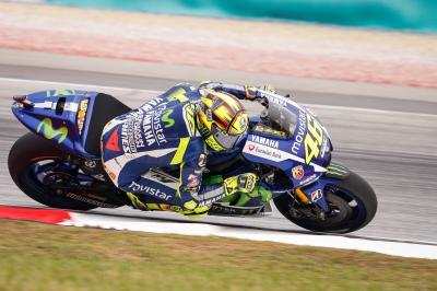 Rossi: «He tenido problemas, la moto vibraba mucho»