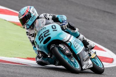 Kent, el más rápido de Moto3™ el viernes en Sepang