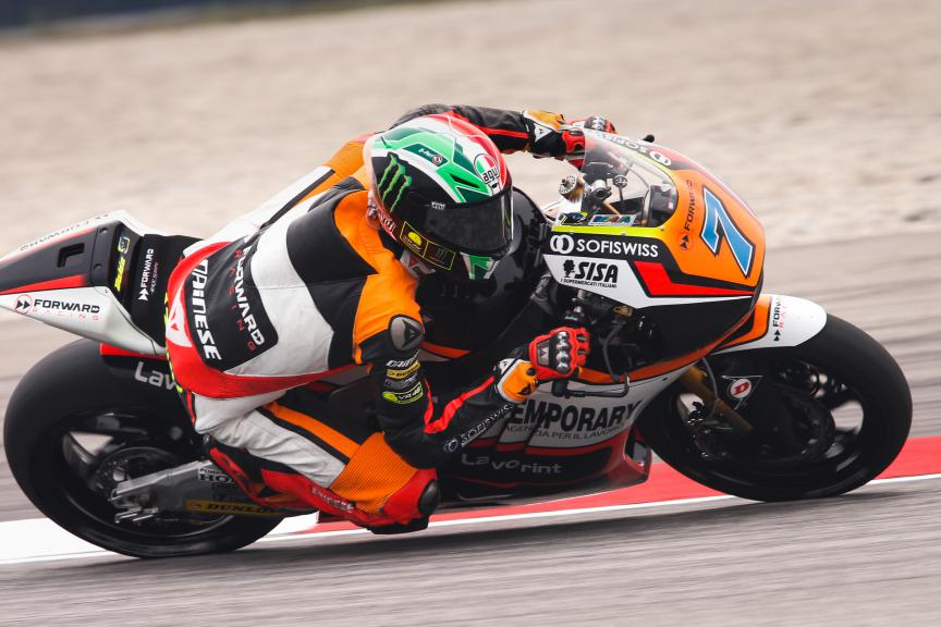 Lorenzo Baldassarri, Forward Racing, Malaysian GP FP2