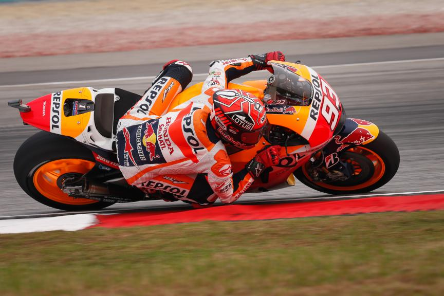 Marc Marquez, Repsol Honda Team, Malaysian GP FP2