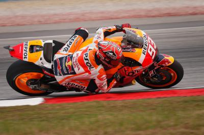 "Marquez: ""Now it's completely different"""