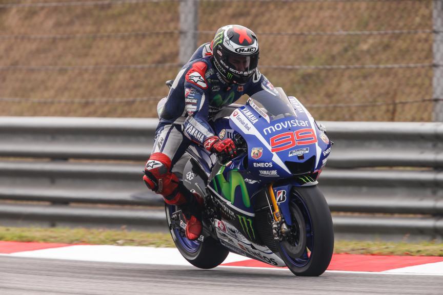 Jorge Lorenzo, Movistar Yamaha MotoGP, Malaysian GP FP2