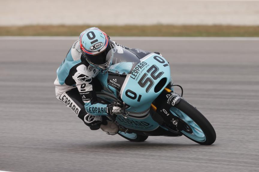 Danny Kent, Leopard Racing, Malaysian GP FP1