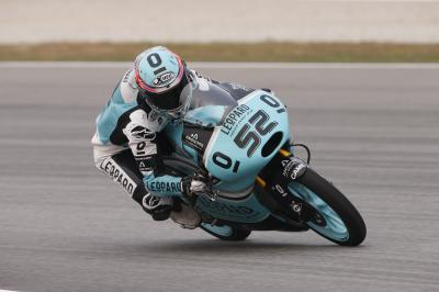 Confident Kent leads way in Moto3™ FP1