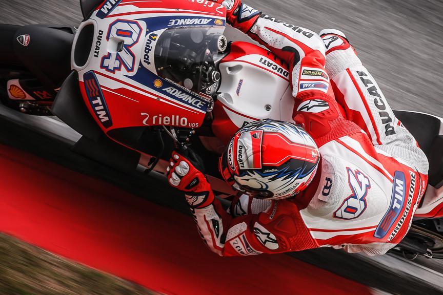 Andrea Dovizioso, Ducati Team, Malaysian GP Q2
