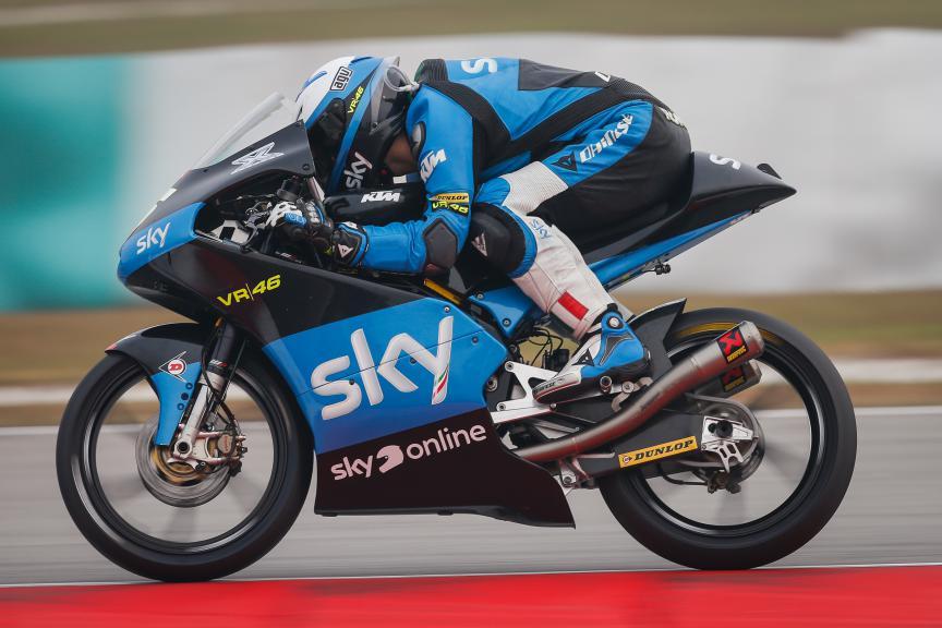 Romano Fenati, SKY Racing Team VR46, Malaysian GP QP