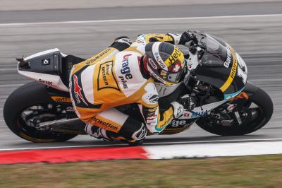 Luthi takes first Moto2™ pole of 2015