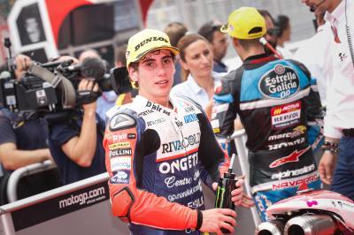 Antonelli: 'Contento per questa pole position'