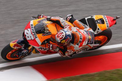 Pedrosa na frente da FP4 de MotoGP™