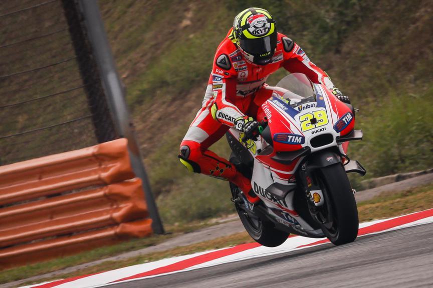 Andrea Iannone, Ducati Team, Malaysian GP Q2