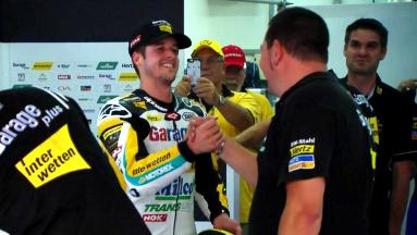 Tom Luthi in pole in Moto2™
