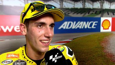 Rins: 'The day was different!'