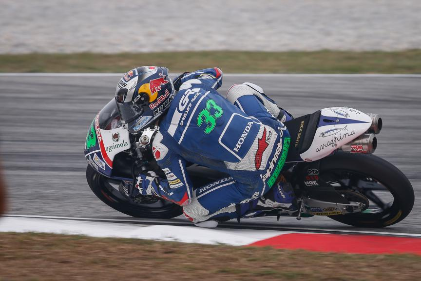 Enea Bastianini, Gresini Racing Team Moto3, Malaysian GP QP